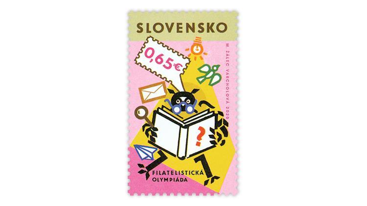 slovakia-2020-philatelic-olympics-stamp