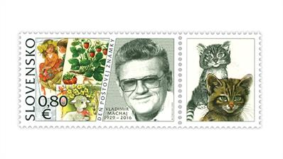 slovakia-2020-postage-stamp-day-vladimir-machaj-stamp