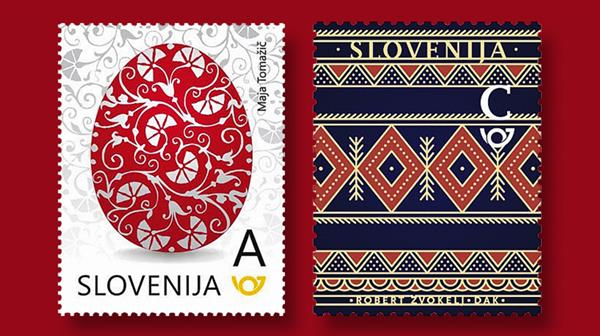 slovenia-decorated-egg-stamps