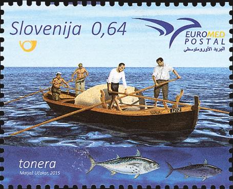 slovenia-euromed-stamp-fishing-boat-tuna-2015