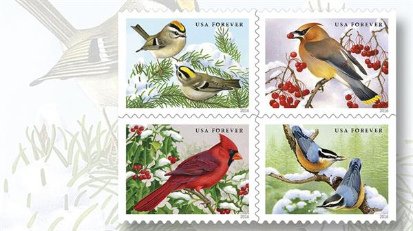 songbirds-in-snow-stamps