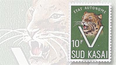 south-kasai-leopard-stamp-courvoisier-printer-switzerland