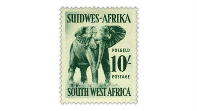 south-west-africa-1954-elephant-stamp