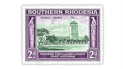 southern-rhodesia-1940-50th-anniversary-british-south-africa-company-stamp
