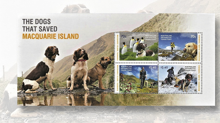souvenir-sheet-four-stamps-2015-trained-dogs