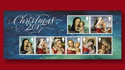 souvenir-sheet-includes-madonna-child-stamps