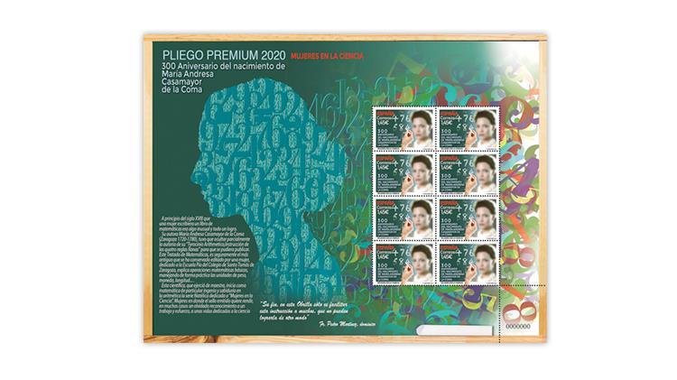spain-2020-women-science-maria-andresa-casamayor-stamp-pane