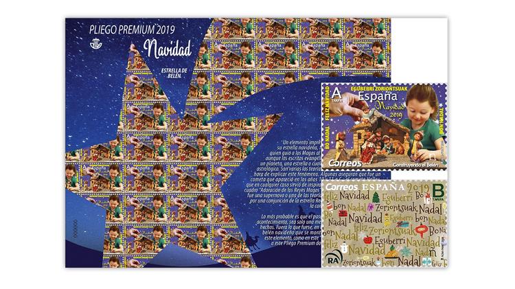 spain-star-of-bethlehem-christmas-souvenir-sheet