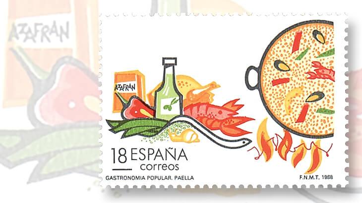 spain-tourism-snail-stamp