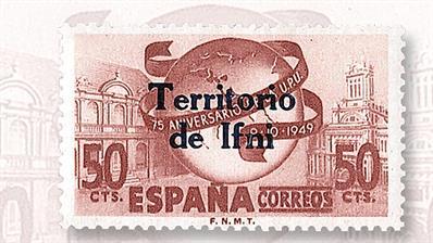 spanish-overprint-for-ifni