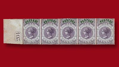 spink-india-1866-6-anna-violet-queen-victoria-stamps