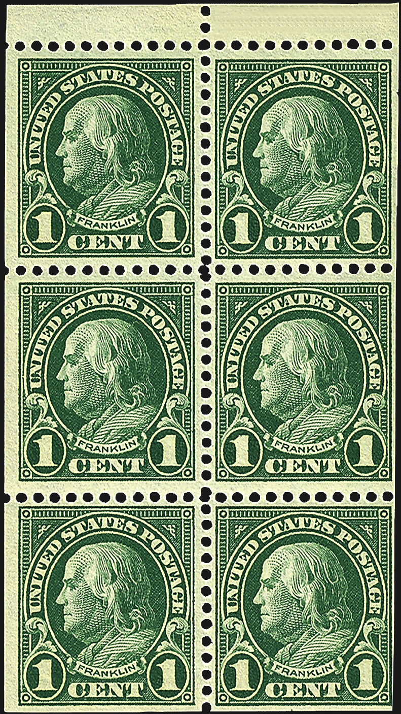 Is Your 1 162 Green Franklin Stamp Scott 594 Or 596 Linns Com