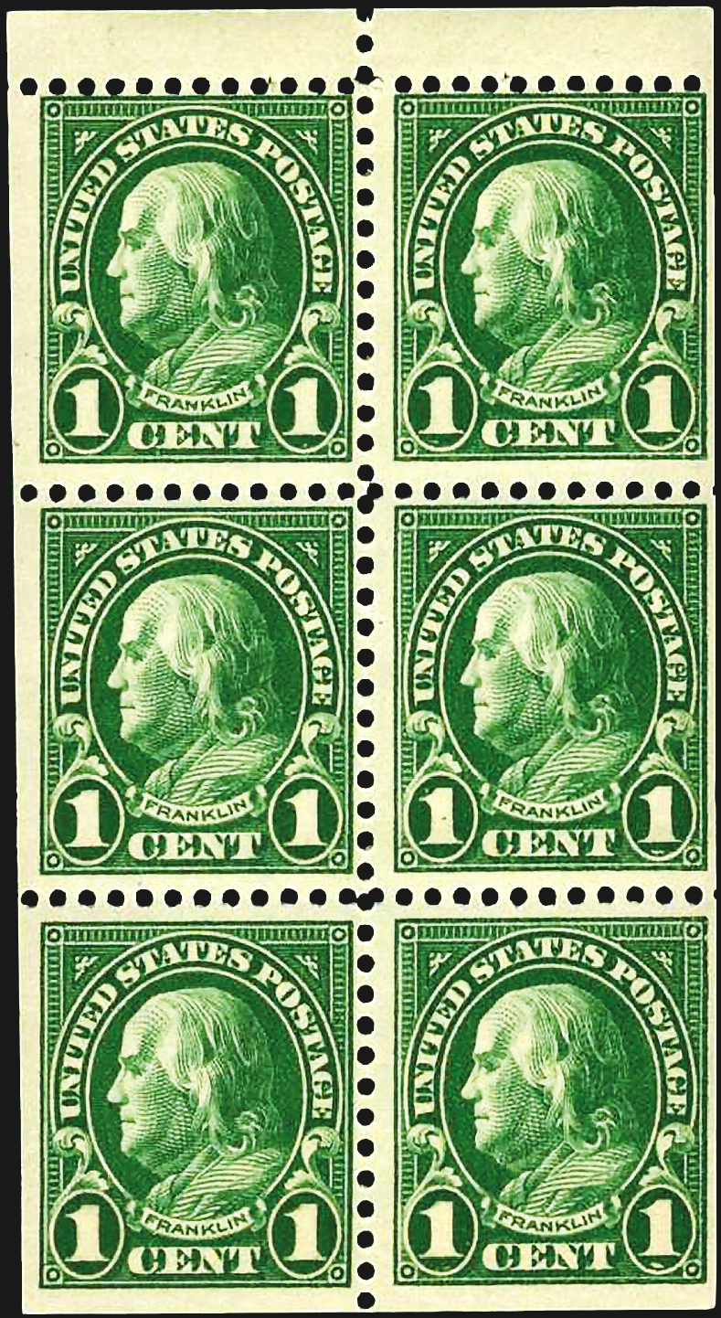 is your 1 green franklin stamp scott 594 or 596 if it is you have