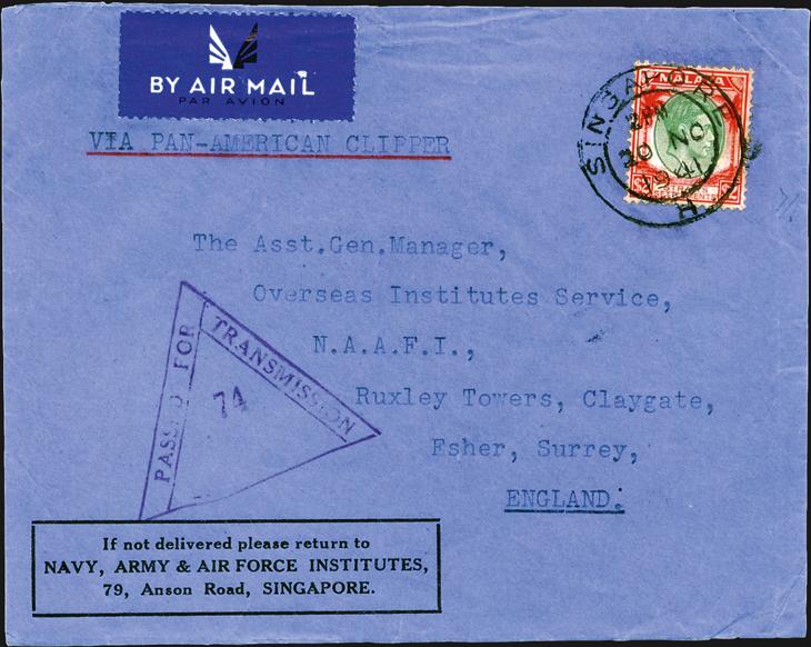 spotlight-airmail-pearl-harbor-singapore-great-britain-1941