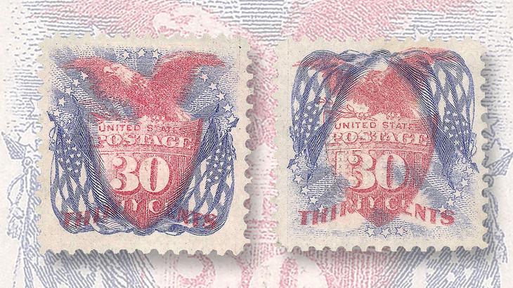 spotlight-on-philately-1869-pictorial-flags-inverted-error