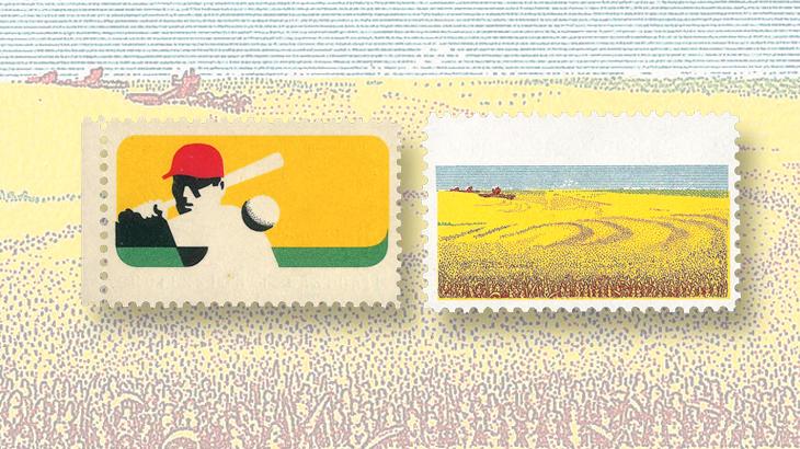 spotlight-on-philately-1969-baseball-1974-rural-america-color-omitted-errors