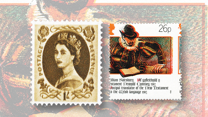 spotlight-on-philately-great-britain-queen-elizabeth-color-perforation-shift