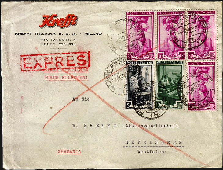 spotlight-on-philately-italy-at-work-series-express-cover-milan-germany