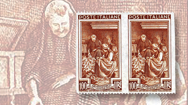 spotlight-on-philately-italy-at-work-series-imperf-vertically-pair-error