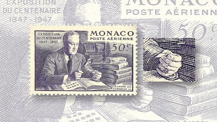 spotlight-on-philately-monaco-airmail-franklin-delano-roosevelt-extra-finger