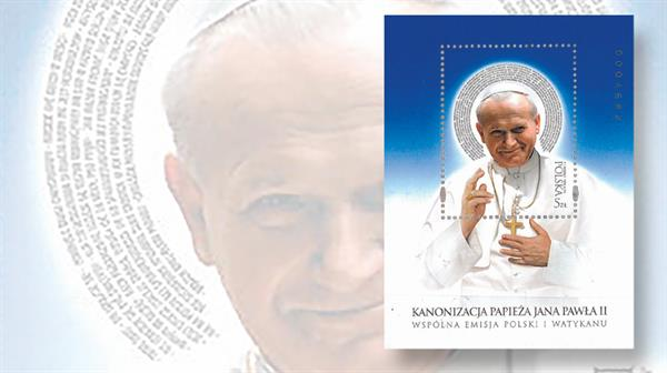 st-gabriel-award-2015-poland-souvenir-sheet-pope-john-paul-ii