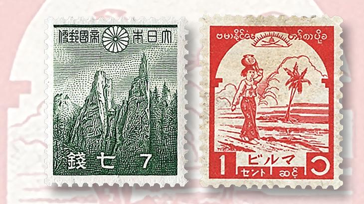 stamp-collecting-basics-1942-1943-burma-japan-occupation