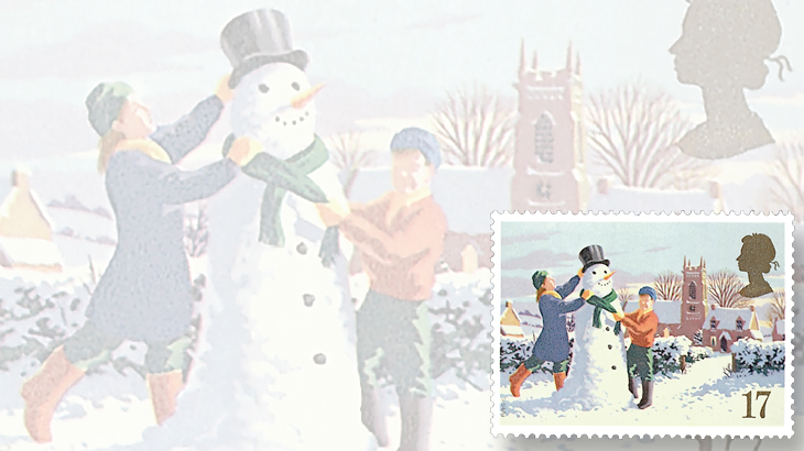 stamp-collecting-basics-christmas-1990-great-britain-snowman