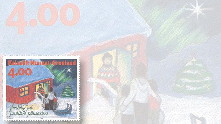 stamp-collecting-basics-christmas-1994-greenland-stars