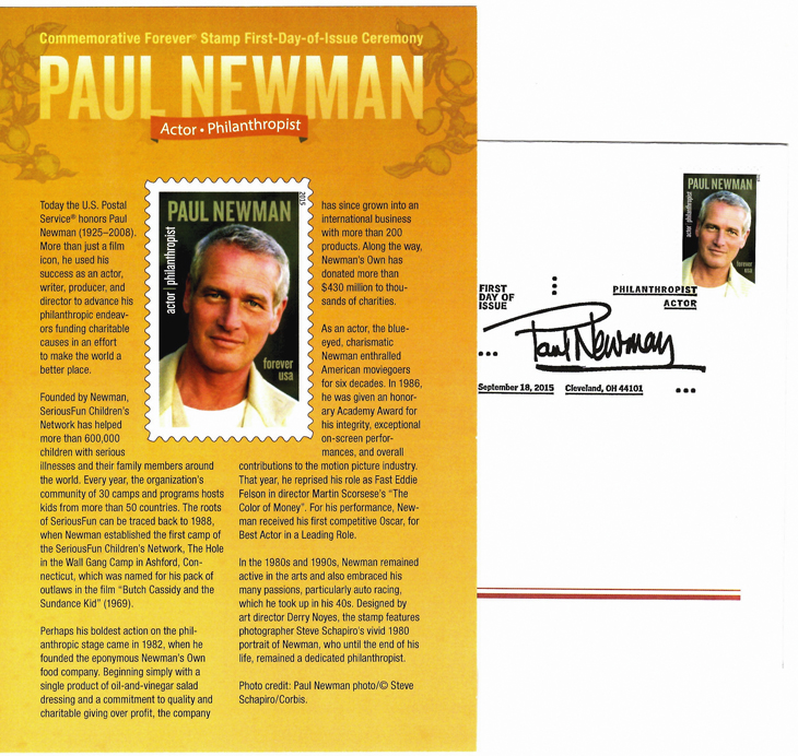 stamp-collecting-basics-free-first-day-cover-ceremony-program-paul-newman