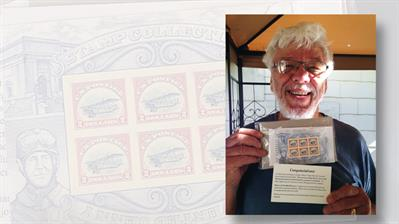 stamp-collector-don-murphy-rare-upright-jenny-invert-pane