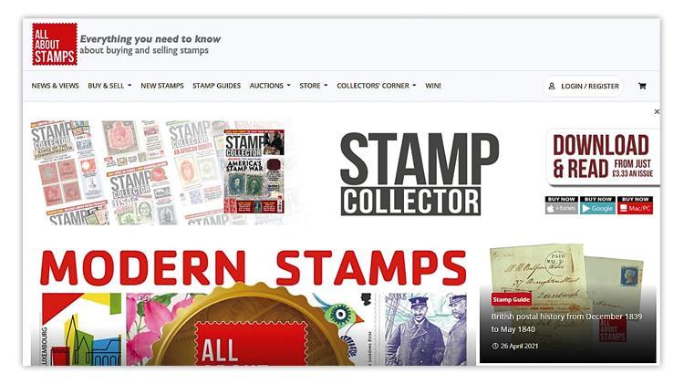 stamp-collector-magazine-website