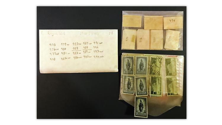 stamp-duplicates-organized