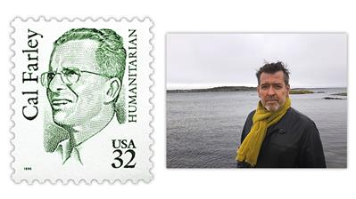 stamp-engraver-martin-morck-cal-farley-great-americans-series-stamp