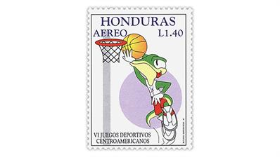 Stamp Market Tips Honduras Sixth Central American Games stamp