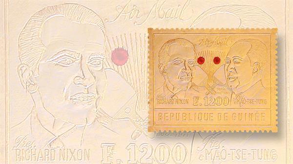 stamp-market-tips-tip-of-the-week-1972-guinea-richard-nixon-mao-tse-tung-airmail-stamp