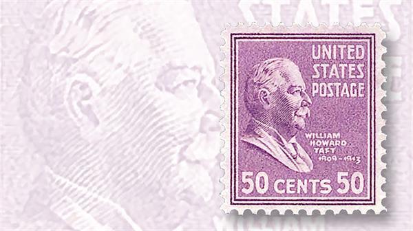 stamp-market-tips-united-states-howard-taft-presidential-series