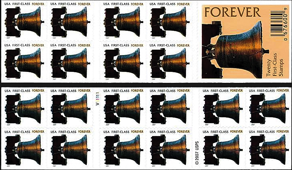 stamp-printing-united-states-liberty-bell-forever-booklet-2007