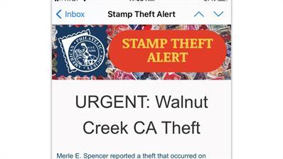stamp-theft-alert-merle-spencer-walnut-creek-california