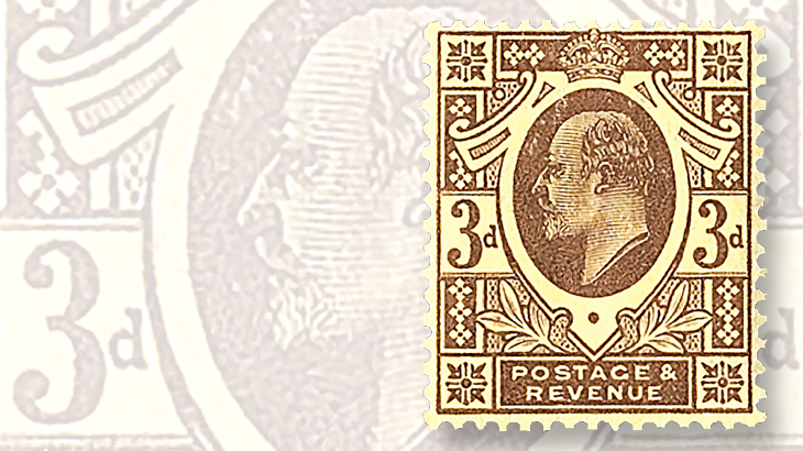 stamps-colored-paper-great-britain-king-edward-vii