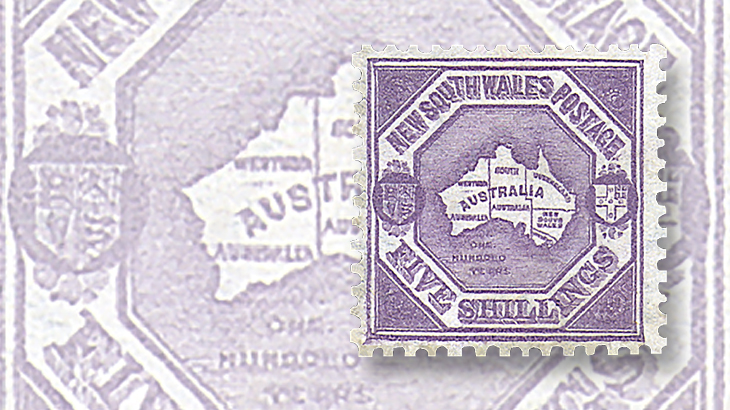 stamps-down-under-new-south-wales-centenary-australia-continent