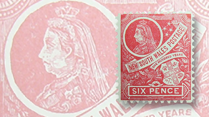 stamps-down-under-new-south-wales-centenary-queen-victoria-coat-of-arms