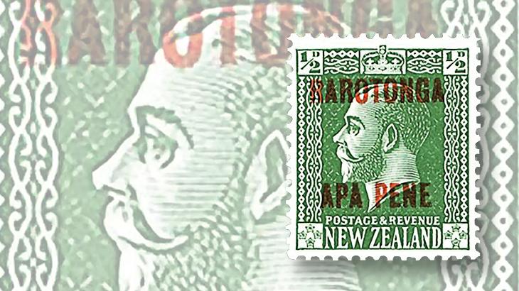 stamps-down-under-new-zealand-overprints-rarotonga-cook-islands-king-george-v