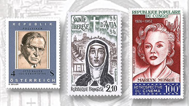 stamps-honor-austrian-writer-and-politician-otto-bauer