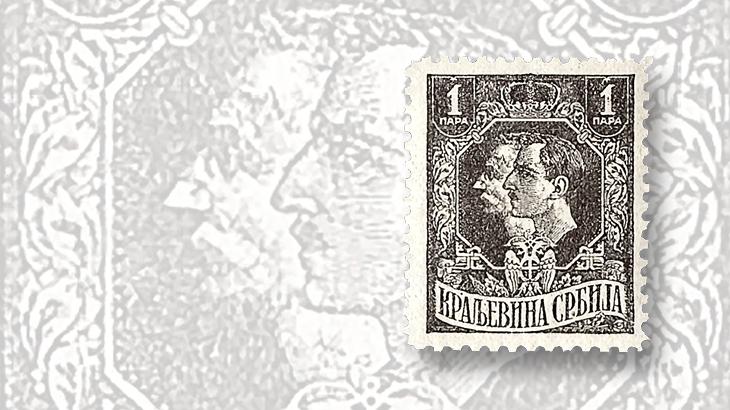 stamps-of-eastern-europe-serbia-croatia-slovenia-king-peter-prince-alexander