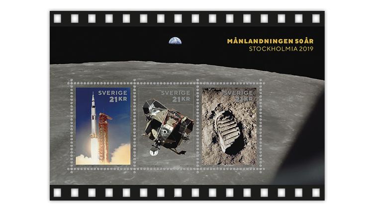 stockholmia-moon-landing-souvenir-sheet