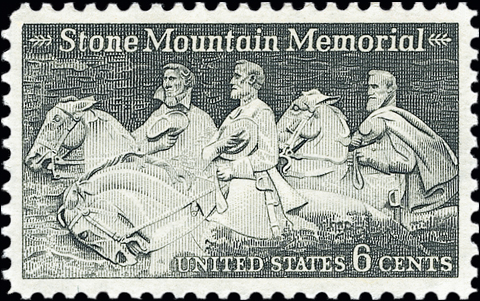 stone-mountain-confederate-stamp