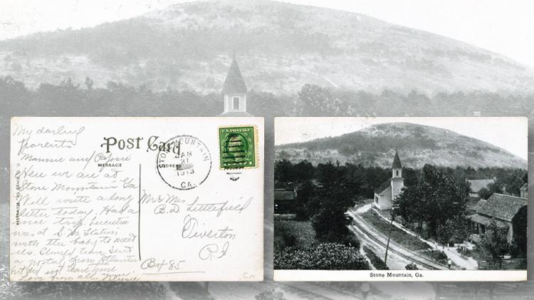 stone-mountain-town-postcard