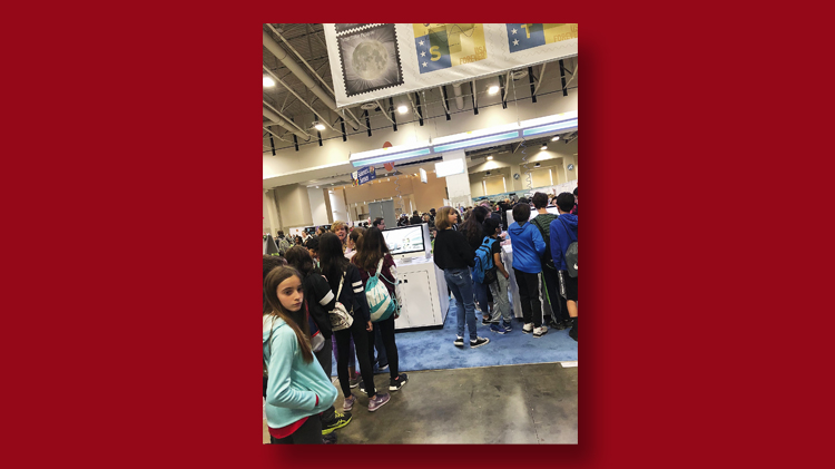 students-waiting-postal-service-booth