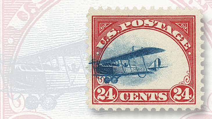 supersonic-plane-variety-curtiss-jenny-airmail-stamp