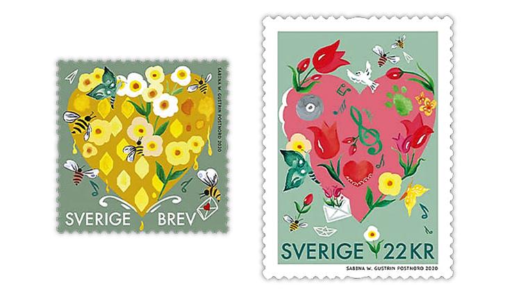 sweden-2020-heartfelt-greetings-stamps